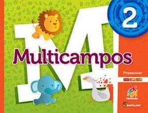 MULTICAMPOS 2 PREESC. -S.HORIZONTES- (PACK)