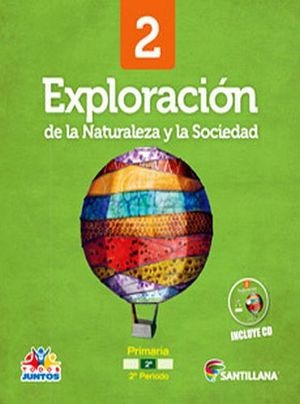 EXPLORACION DE LA NATURALEZA Y LA SOCIEDAD 2DO.PRIM. (PACK+CD)