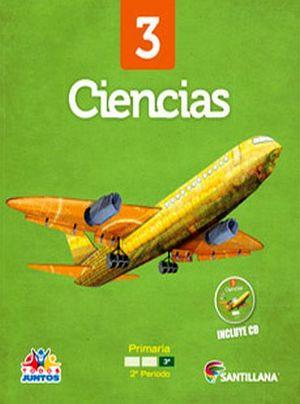 CIENCIAS 3RO. PRIM. -S.TODOS JUNTOS- (PACK+CD)