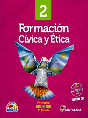 FORMACION CIVICA Y ETICA 2DO. PRIM. -S.TODOS JUNTOS- (PACK+CD)