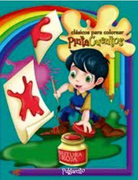 CLASICOS PARA COLOREAR PINTA C. -PULGARCITO- (C/CRAYOLAS)