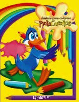 CLASICOS PARA COLOREAR PINTA C. -EL PATITO FEO- (C/CRAYOLAS)