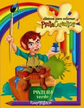 CLASICOS PARA COLOREAR PINTA C. -RUMPELSTILTSKIN- (C/CRAYOLAS)