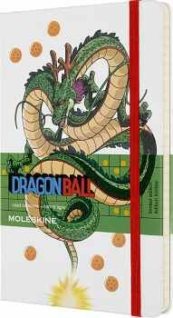 LIBRETA DRAGON BALL SHENGLONG GRANDE BLANCO (HOJA RAYADA/EMP.)