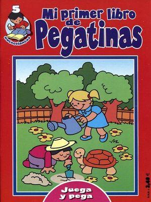MI PRIMER LIBRO DE PEGATINAS 5 (ROJO)