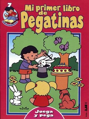 MI PRIMER LIBRO DE PEGATINAS 7 (ROSA)