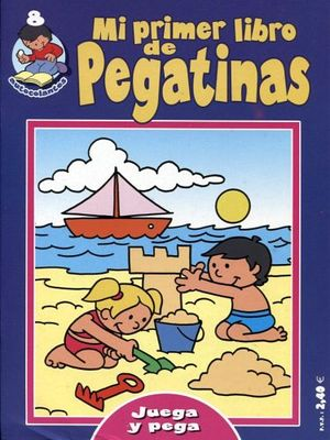 MI PRIMER LIBRO DE PEGATINAS 8 (AZUL FUERTE)