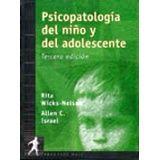 PSICOPATOLOGIA DEL NIÑO Y DEL ADOLESCENTE 3ED.