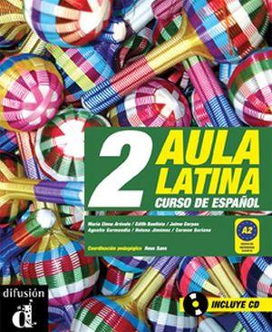 AULA LATINA 2 (LIBRO & CD)                                      .