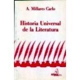 HISTORIA UNIVERSAL DE LA LITERATURA 61   26ED.