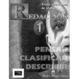 REDACCION I. PENSAR, CLASIFICAR, DESCRIBIR