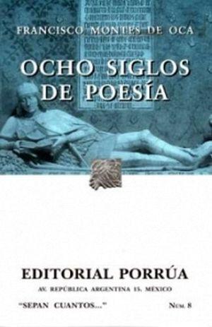 008 OCHO SIGLOS DE POESIA