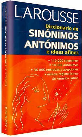 DICCIONARIO DE SINONIMOS ANTONIMOS E IDEAS AFINES