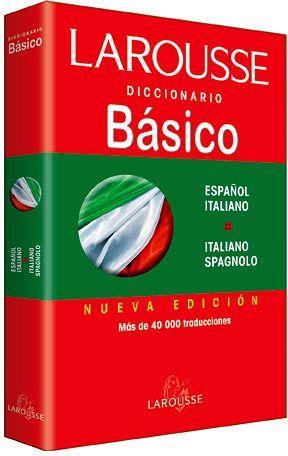 DICCIONARIO BASICO ESPAÑOL-ITALIANO Y V.V.