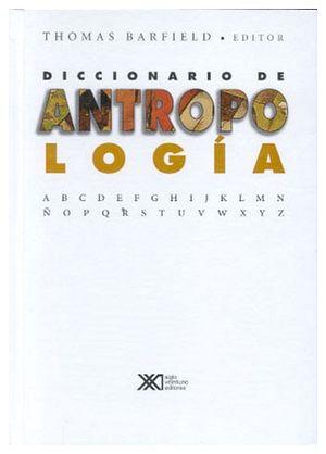 DICCIONARIO DE ANTROPOLOGIA