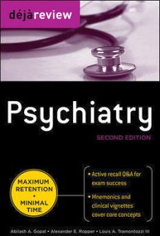 DEJA REVIEW PSYCHIATRY 2ED.