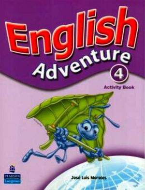 ENGLISH ADVENTURE 4 ACTIVITY BOOK