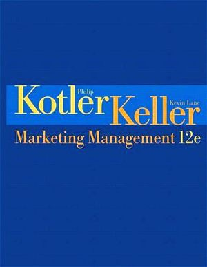 MARKETING MANAGEMENT 12ED.