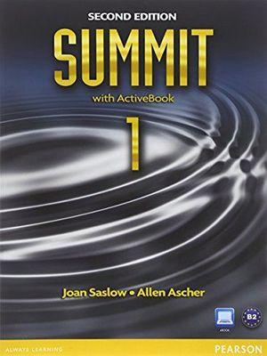 SUMMIT 1 2ED BOOK W/ACTIVEBOOK