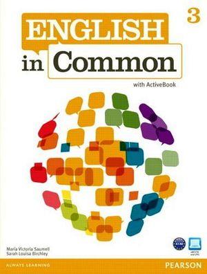 ENGLISH IN COMMON 3 BOOK W/ACTIVEBOOK