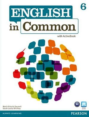 ENGLISH IN COMMON 6 STUDENT BOOK W/ACTIVEBOOK CD