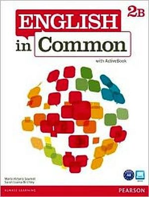 ENGLISH IN COMMON 2B SB AND WB W/ACTIVE BOOK