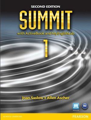 SUMMIT 1A 2ED BOOK W/WORKBOOK/ACTIVEBOOK & MYENGLISHLAB