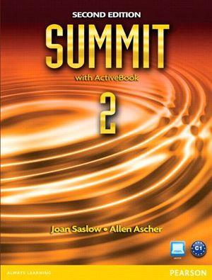SUMMIT 2A 2ED BOOK W/WORKBOOK/ACTIVEBOOK & MYENGLISHLAB