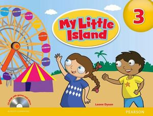 MY LITTLE ISLAND 3 STUDENT BOOK W/CD-ROM