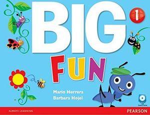 BIG FUN 1 STUDENT BOOK W/CD