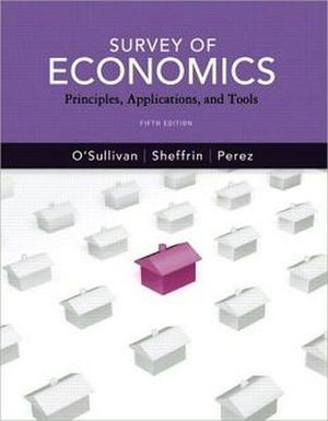 SURVEY OF ECONOMICS 5TH W/MY ECONLAB