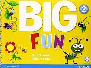 BIG FUN 2 STUDENT BOOK W/CD