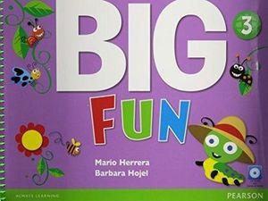 BIG FUN 3 STUDENT BOOK W/CD