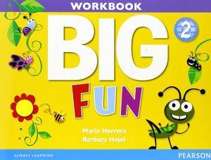 BIG FUN 2 WORKBOOK W/AUDIO CD