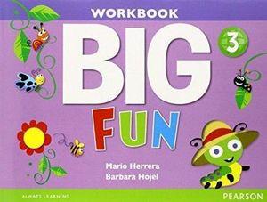 BIG FUN 3 WORKBOOK W/AUDIO CD