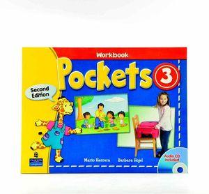 POCKETS 3 2ED WORKBOOK W/CD