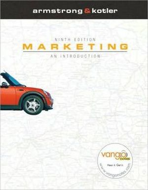 MARKETING AN INTRODUCTION 9ED.