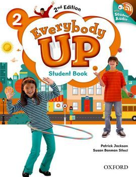 EVERYBODY UP 2ED 2 STUDENT BOOK W/CD