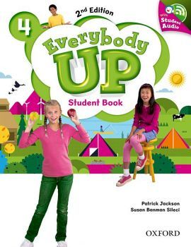 EVERYBODY UP 2ED 4 STUDENT BOOK W/CD