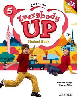 EVERYBODY UP 2ED 5 STUDENT BOOK W/CD