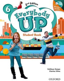 EVERYBODY UP 2ED 6 STUDENT BOOK W/CD