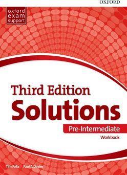 SOLUTIONS 3ED PRE-INTERMEDIATE WORKBOOK