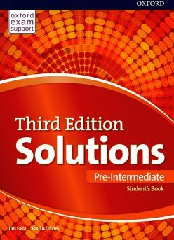 SOLUTIONS 3ED PRE-INTER ST'S BOOK & ONLINE PRACTICE PACK