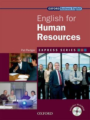 ENGLISH FOR HUMAN RESOURCES W/CD-ROM   (ENGLISH BUSINESS ENGLISH)