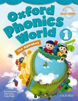 OXFORD PHONICS WORLD 1 BOOK W/2 MULTI-ROM