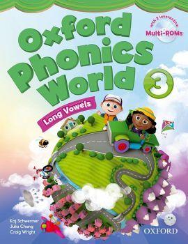 OXFORD PHONICS WORLD 3 BOOK W/2 MULTI-ROM