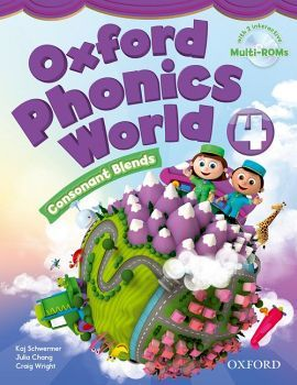 OXFORD PHONICS WORLD 4 BOOK W/2 MULTI-ROM