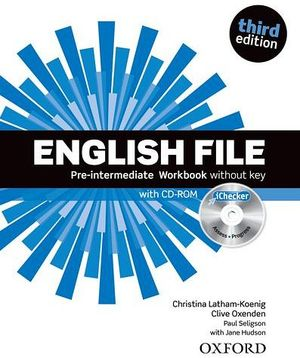 ENGLISH FILE 3ED PRE-INTER WORKBOOK NO KEY W/ICHEKER