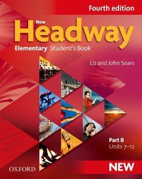 NEW HEADWAY 4ED ELEMENTARY B STUDENT BOOK (UNIT 7-12)