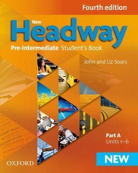 NEW HEADWAY 4ED PRE-INTER A STUDENT BOOK (UNIT 1-6)